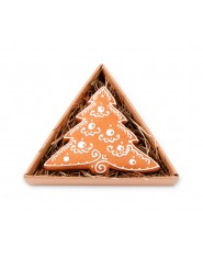 Choinka w trójkątnym pudełku